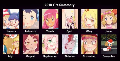 2018 Art Summary by DaDonYordel