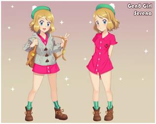 Serena Cosplays: The Gen 8 Girl by DaDonYordel