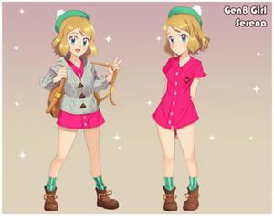 Serena Cosplays: The Gen 8 Girl