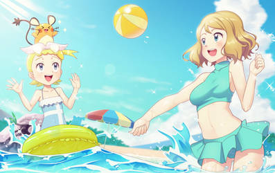 Swimsuit Serena and Eureka 2