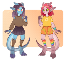 [OPEN 2/2] girls ADOPTABLE auction by mogilenetc