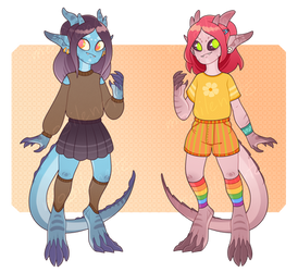 [OPEN 1/2] girls ADOPTABLE auction by mogilenetc