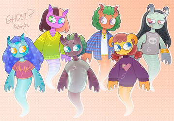 [closed] ghost? adoptable auction by mogilenetc