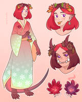 [OPEN] flower girl adoptable auction by mogilenetc