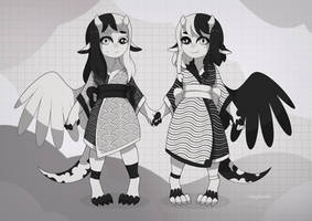 [open] twins adopt auction by mogilenetc