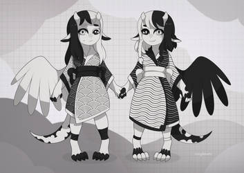 [closed] twins adopt auction by mogilenetc