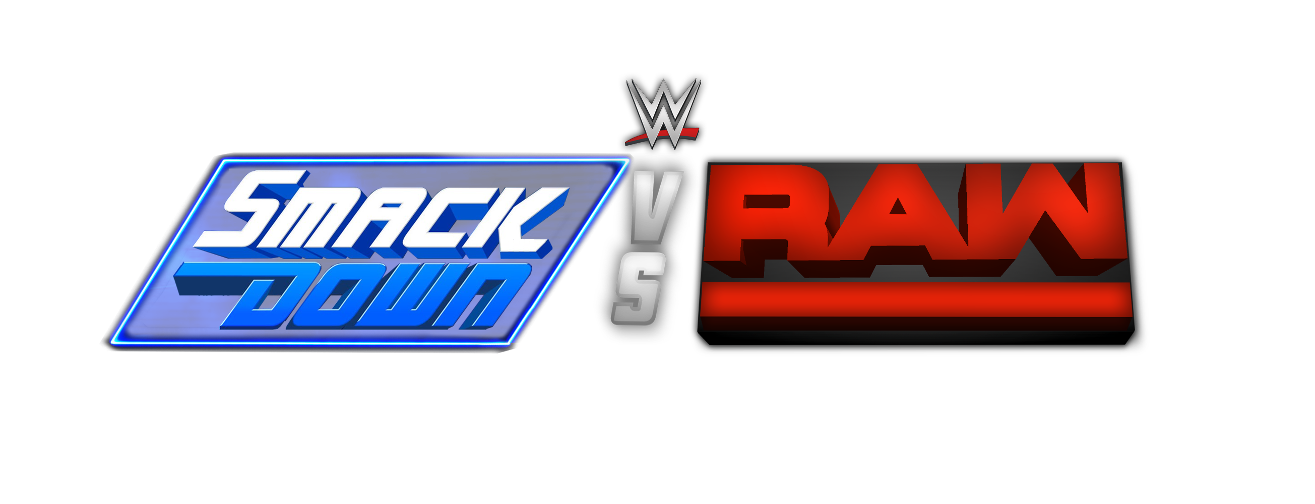 wwe smackdown vs raw custom logo by lastbreathgfx on