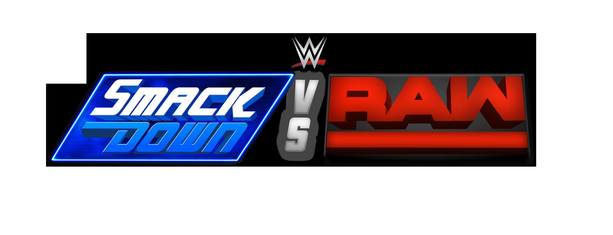 WWE SmackDown vs. RAW Custom Logo