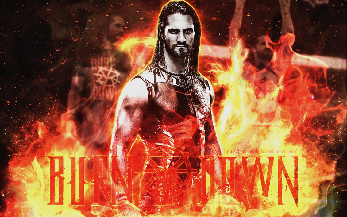 wwe seth rollins 11th wallpaper 2017lastbreathgfx on deviantart