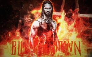 WWE Seth Rollins 11th Wallpaper 2017 (MBL) by LastBreathGFX