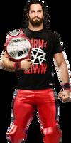 Seth Rollins SS' 2017 Render (w/ Title) (T-Shirt)
