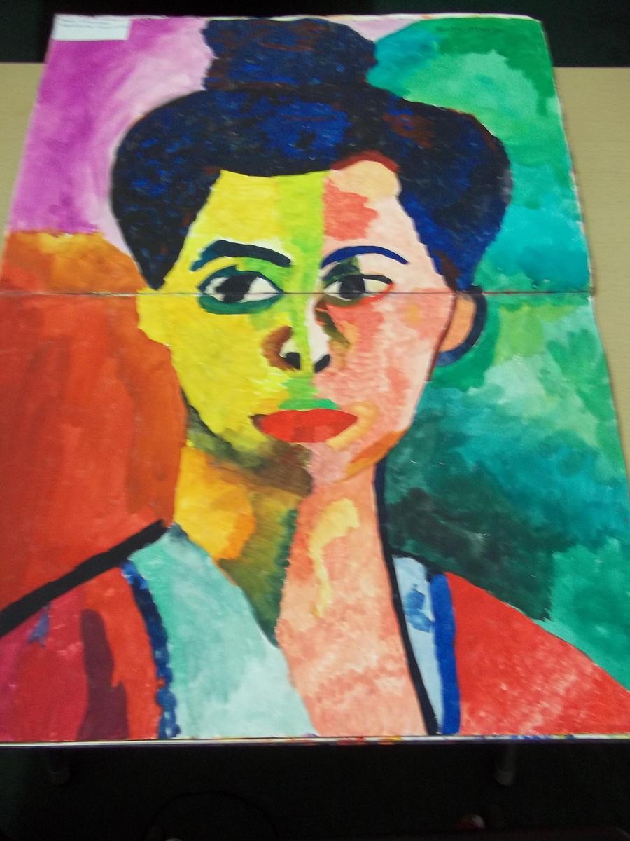Copy of Henri Matisse- Madame Matisse by Doyin1 on DeviantArt