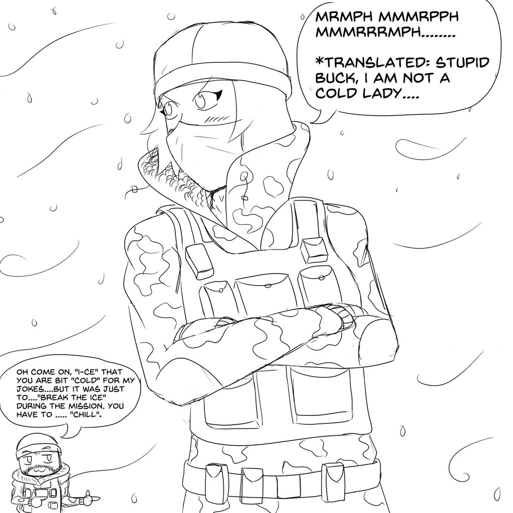 R6:Siege Frost by Evinaizer on DeviantArt