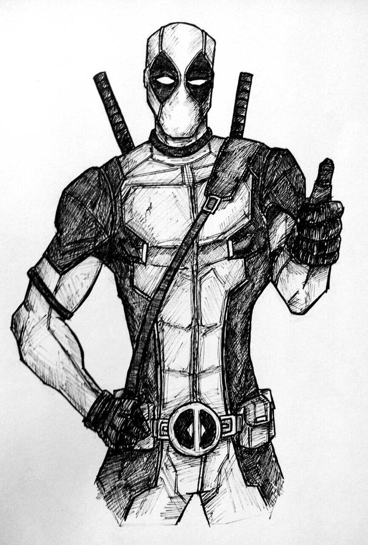 Deadpool by xXdrawingguyXx