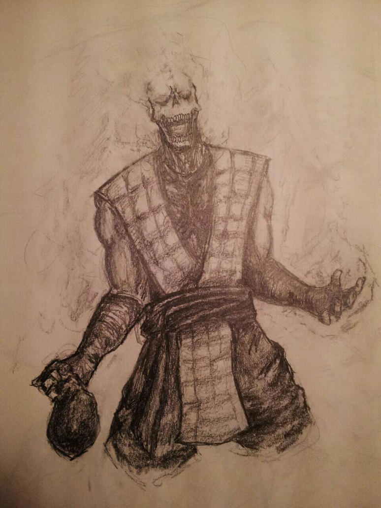 Scorpion The Wraith of Fire by xXdrawingguyXx