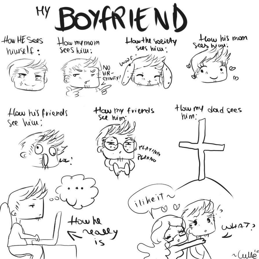 My Boyfriend - doodle by LullaTheOtaku on DeviantArt