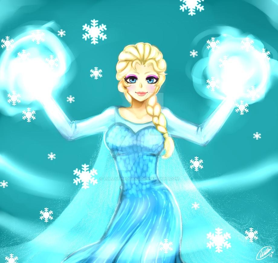 Let It Go By Ururuty On Deviantart: Let It Go, Elsa! By LullaTheOtaku On DeviantArt