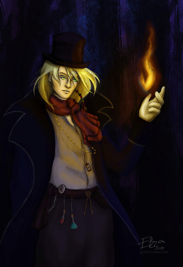Magician by Elzza