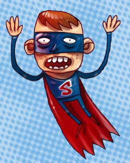 Mini Superman by Russeldark