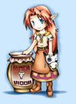Old: Malon from Zelda