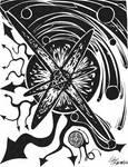 Black and White by CartoonJohn