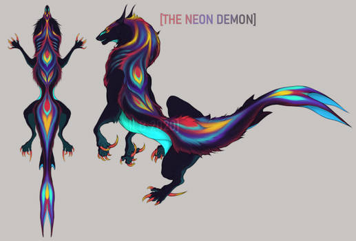 The Neon Demon -  SOLD