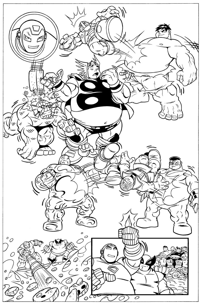 Groß Super Hero Squad Malvorlagen Zum Ausdrucken Zeitgenössisch ...