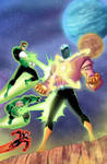 Green Lantern animated issue #2 cover