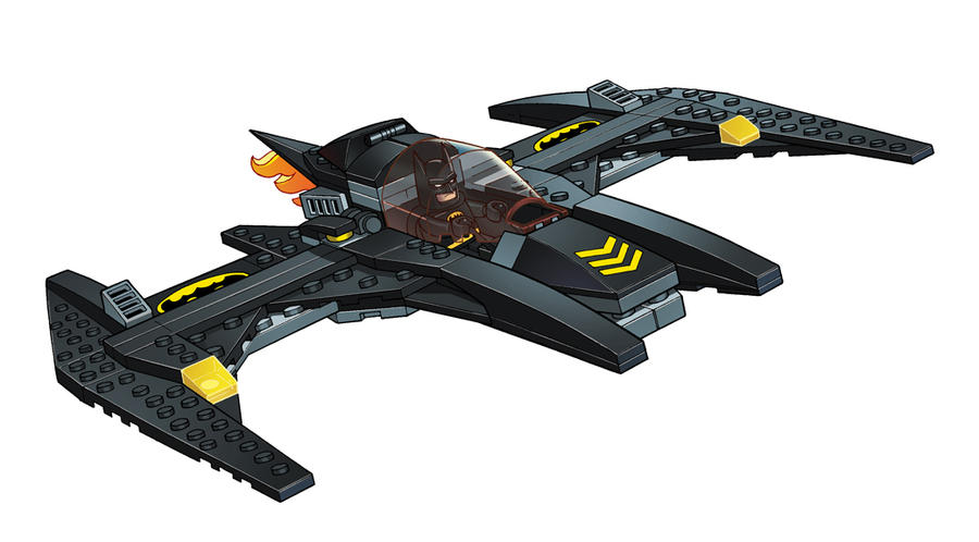 Batwing Lego style! by DarioBrizuelaArtwork on DeviantArt