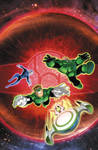 GREEN LANTERN ANIMATED BOOK #12 cover color
