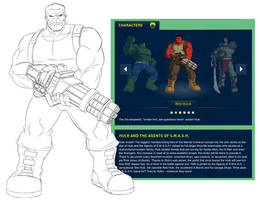 HULK! and the agents of S.M.A.S.H - Red Hulk -