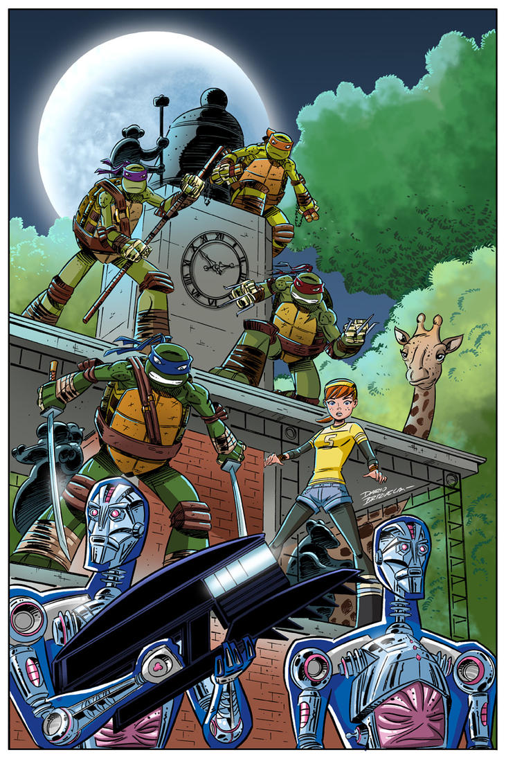 TMNT NAA book 13 cover color. by DarioBrizuelaArtwork