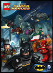 Batman Lego cover art.