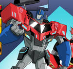 Optimus Prime - Transformers robots in disguise.