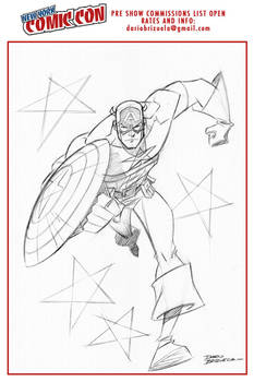 Captain America commission for nycc 2016! (pencil)
