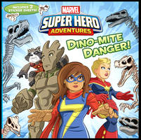 Marvel Super Hero Adventures children book cover.