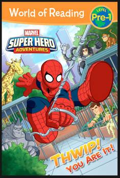 Marvel Super Hero Adventures Spiderman cover art.