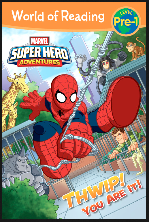 Marvel Super Hero Adventures Spiderman cover art. by DarioBrizuelaArtwork