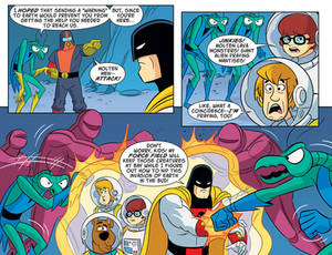 Scooby Doo! Space Ghost! team up!