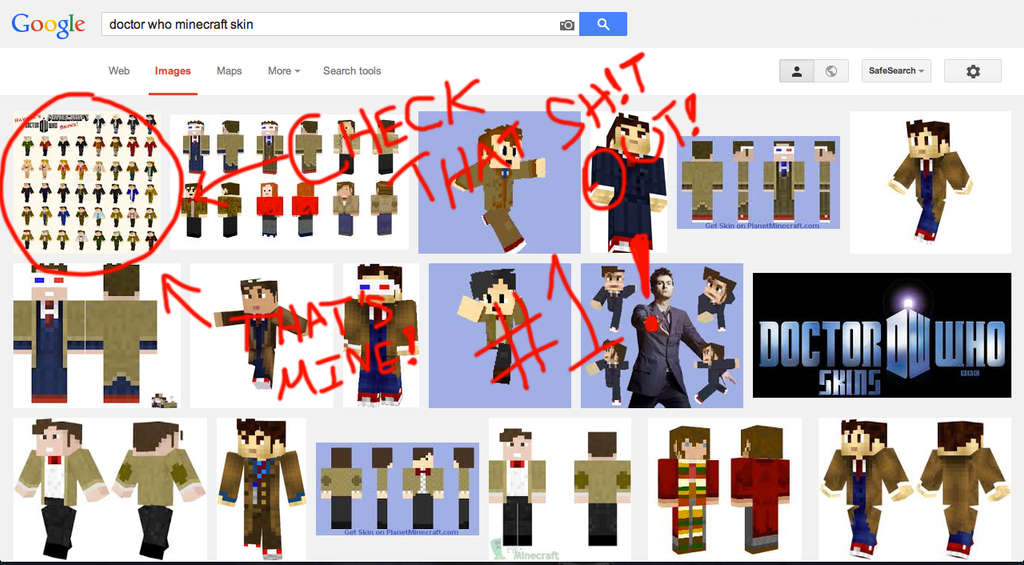 ravage s doctor who skins 1 on google by otakuravage on deviantart