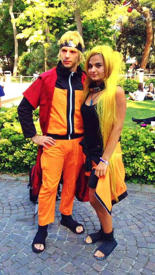 Naruto and Naruko Uzumaki cosplay by JadeNarukoUzumaki