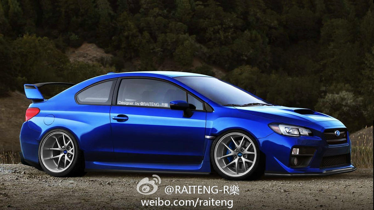 2015 Subaru Wrx Sti Coupe Tuning Raceing By Ailo9127 On