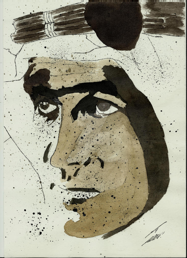 Peter O'Toole as Lawrence of Arabia by Badashh
