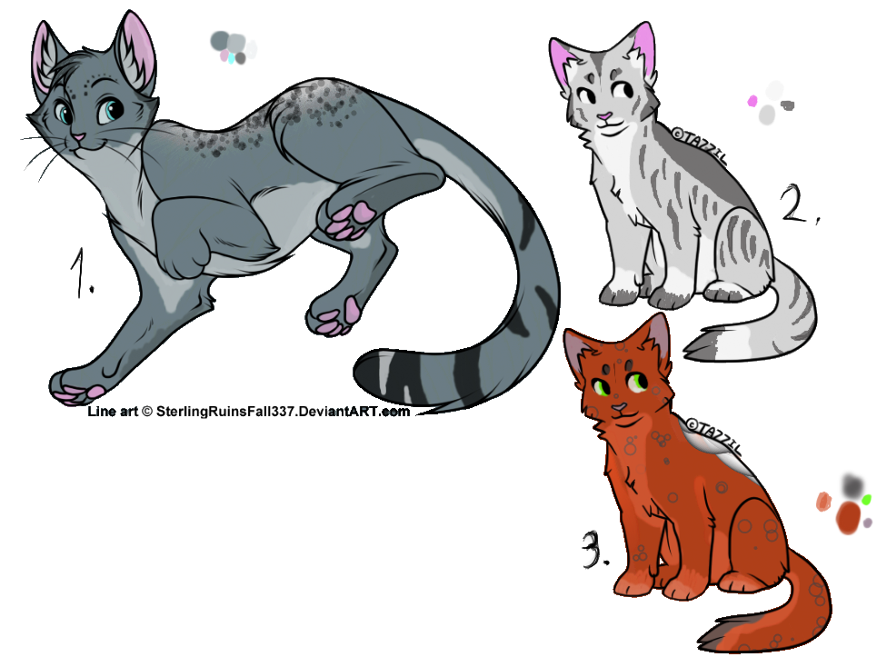 Cat Adopts :Open: by TheAdoptArtist
