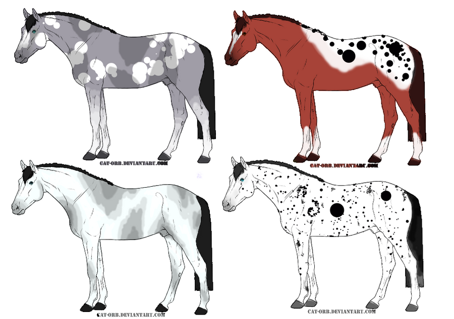 Horse point adopts :OPEN: 10pts each by TheAdoptArtist