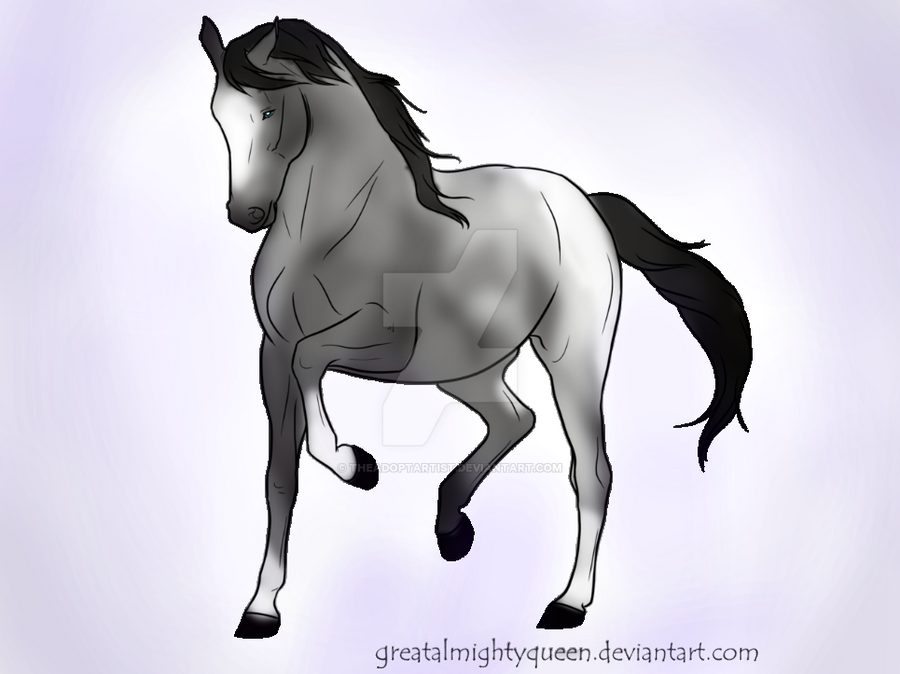 Breedable horse by TheAdoptArtist