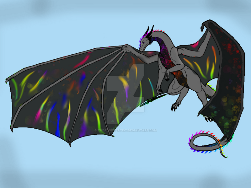 Dragon hatched by TheAdoptArtist