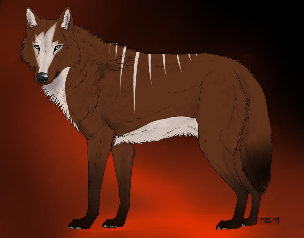 Wolf adoptable open {10 points} by TheAdoptArtist