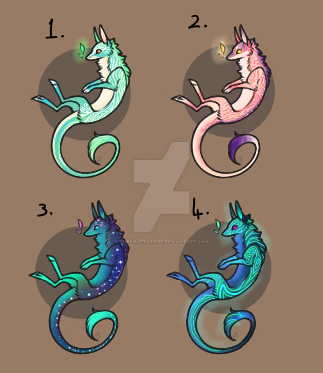 Freinn Dragon Auction - 1 [OPEN] [2/4] by TheAdoptArtist
