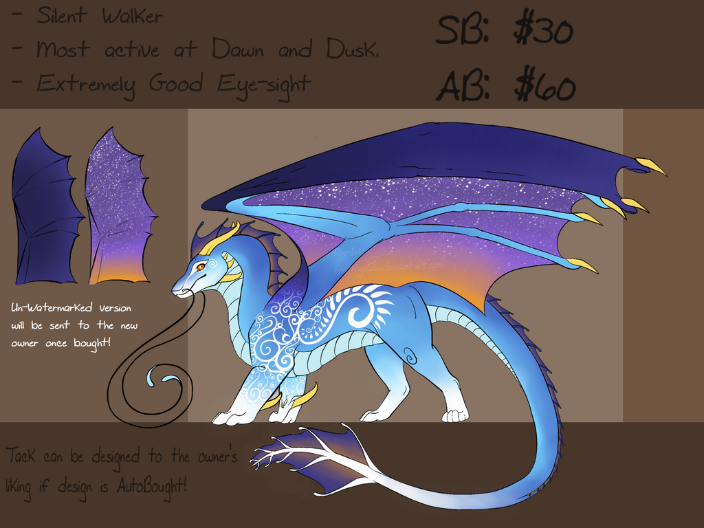 Dawn-Cloud Dragon [AUCTION] [CLOSED] by TheAdoptArtist